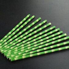 25pcs Creative Safari Jungle Party Birthday Paper Straws Panda Bamboo Straws
