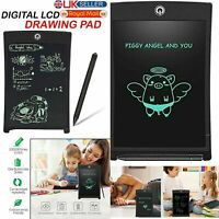 """8.5"""" Digital Electronic LCD Writing Drawing Tablet Pad For Kids Graphics Notepad"""