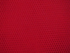 RED veiling morbido tulle WEDDING / BRIDAL DRESS Fabric 280cm Ampio Gratuito P+P