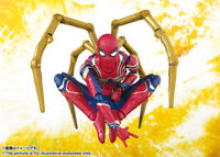 S.H.Figuart Iron Spider-Man Action Figure The Avengers 3 PVC Doll New In Box