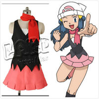 Pocket Monsters Pokemon Dawn Dress cosplay costume custom -made