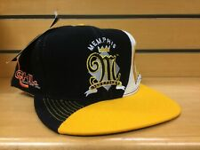 New NWOT Vintage Deadstock Memphis Riverkings CHL Hockey Snapback Cap Hat VTG