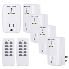 Bn-Link Mini Wireless Remote Control Outlet Switch Power Plug In for Household 2