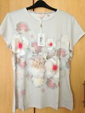 Ted Baker Chelsea Fitted T-Shirt Top Size 5 UK 16