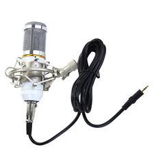 Professional Condenser Microphone Mic Sound Studio Recording Dynamic White