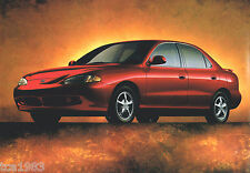 1996 HYUNDAI EXCEL / SONATA / ELANTRA Brochure / Catalog: GL,GLS,