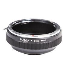 Canon EOS lens to Micro 4/3 M4/3 Four Third Adapter EPL7 EM5 EPL5 EM10 GM1 GM5