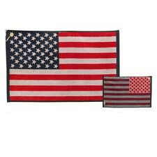 "American Flag Stars & Stripes Golf Towel 16"" x 24"" - Jacquard Made in USA"