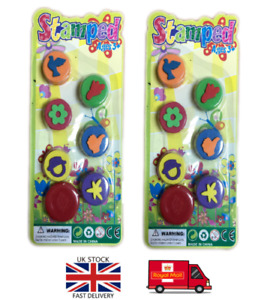 1 pack of Assorted Stamps for Kids, Self-ink, Different Designs, for kids fun UK