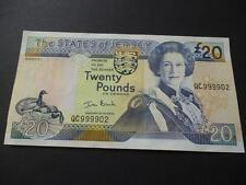 STATES OF JERSEY £20  NOTE IN UNCIRCULATED CONDITION SIGNED BY BLACK.