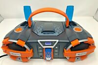Hot Wheels Boombox CD Player FM AM Radio HW560 2011 Mattel Working with Cord