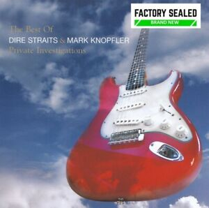 Dire Straits & Mark Knopfler – Private Investigations Best Of 2 x CD Set NEW