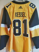 Kessel Adidas Climalite Authentic Pittsburgh Penguins Third Alternate Jersey 42
