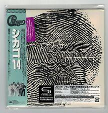 "CHICAGO ""14"" 2010 JAPAN Mini LP SHM-CD +3 Bonus Tracks WPCR-13786 *SEALED*"