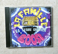"""CD AUDIO MUSIQUE FR / LA FAMILLE BOOTS """"VA T'FAIRE GROOVER"""" 11T 1996 CD ALBUM"""