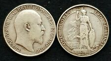 More details for 1902-1910 edward vii silver florins inc rare clear date choose actual coin