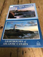 David Towler -lighthouses Of Atlantic Canada/ Nova Scotia Booklets