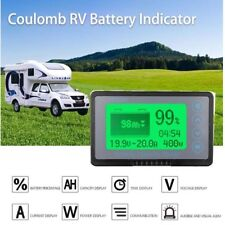 350A coulomb meter Batterie monitor AH SOC CAR RV Remaining Capacity lead-acid