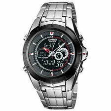 Casio Edifice Stainless Steel Case Adult Wristwatches