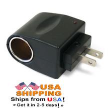 Universal Power Converter 120V Ac to 12V Dc Car Cigarette Lighter Adapter Plug