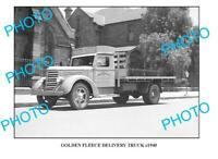 OLD 6 x 4 PHOTO OF GOLDEN FLEECE TRUCK c1940 SYDNEY 2