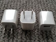 3 x 100% Genuine Apple USA American Mains Charger Adaptor iPhone 8 7 6S 6 iPad