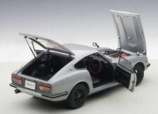 Autoart 1969 NISSAN FAIRLADY Z432 PS30 Silver w/Full Openings 1:18*Brand New!!