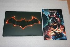 Batman Arkham Knight A4 Hardback 80 page Artbook from Collectors Edition