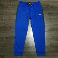 NIKE Air Jordan Flight Gym Training Sweatpants Mens XL Blue Pants Joggers