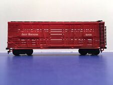 """HO Scale """"Great Northern"""" 56108 Livestock Cattle Freight Train Car"""