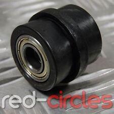 BLACK 10mm RIDGED PIT DIRT BIKE DRIVE CHAIN ROLLER GUIDE 150cc 160cc PITBIKE