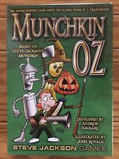 Munchkin: Oz (The Award Winning Game Meets The Classic Books By L. Frank Baum!)