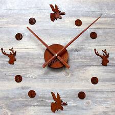 Kit Horloge Aiguilles 31,5cm DIY Mécanisme Mouvement Pendule Rouille Neuf Forêt
