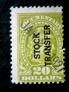 US - SCOTT# RD18 - USED - CAT VAL $18.00