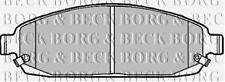 FRONT  BRAKE PADS FOR JEEP GENUINE OE BORG & BECK  BBP1911