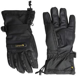 NEW Carhartt Men's Impact Gauntlet Winter Glove - Black - L XL