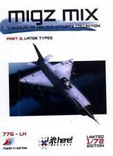 lh776/ Lift Here Decals - MiG-21 - Migz Mix - Jugoslawische Luftwaffe - 1/72