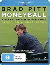 Moneyball (Blu-ray, 2012) BASEBALL  LIKE NEW CONDITION FREE FAST POSTAGE