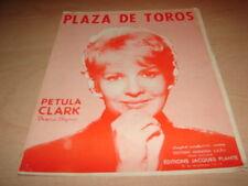 PETULA CLARK - PLAZA DE TOROS!!!!!!!!!!!!!!!!!PARTITION