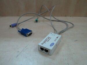 Minicom Phantom Specter PS/2 KVM Cable Server Management Switch 1SU51010
