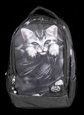 Mochila con bolsa de portátil - Gato Bright Eyes - Spiral Gothic Notebook Bolsa