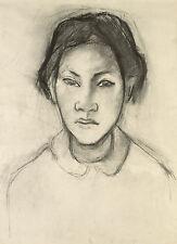 Gauguin Drawings: Head of a Tahitian Woman - Fine Art Print