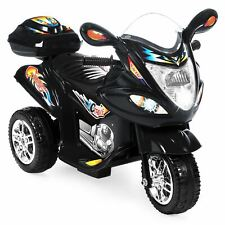 Best Choice Products 6V Kids Battery Powered 3-Wheel Motorcycle Ride On Toy w/ L