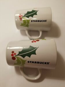 2-STARBUCKS CHRISTMAS MUGS