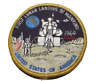 Vtg NASA First Lunar Landing Of Mankind 1969 Space Shuttle Patch