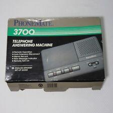 Vintage Phone Mate PhoneMate 3700 Telephone Answering Machine In Box