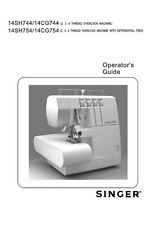 Singer 1802-1852-1872 Sewing Machine/Embroidery/Serger Owners Manual