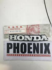 Genuine Honda Fuel Tank Emblem for CG125, 1978 *Discontinued*