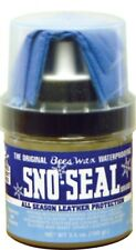 3.5oz Sno Seal Clear with Applicator Beeswax Snow Salt Water Guard Protection