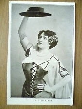 Postcard- Theater Actresses MISS LA TORTAJADA